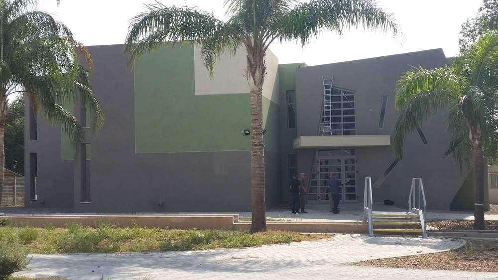 Jordan Valley High School in the Valley of Springs