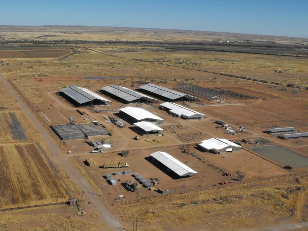Namibia Dairy Farm