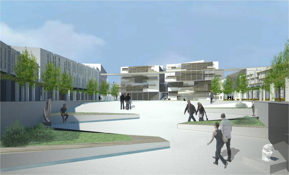 Proposal for planning Mateh Yehuda Regional Council compound