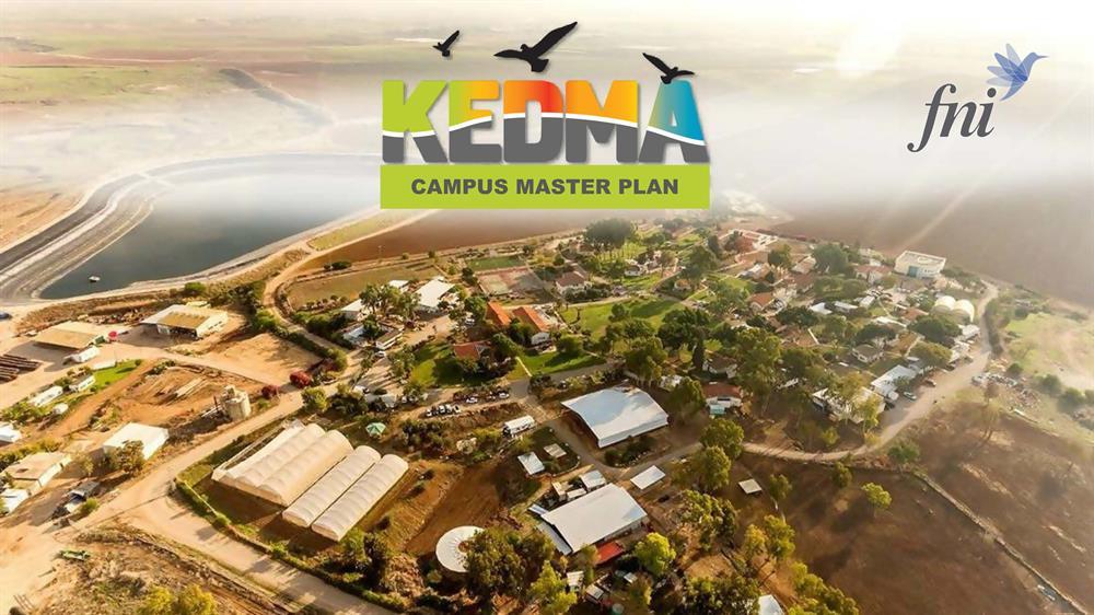 Master plan in Kedma Youth Village