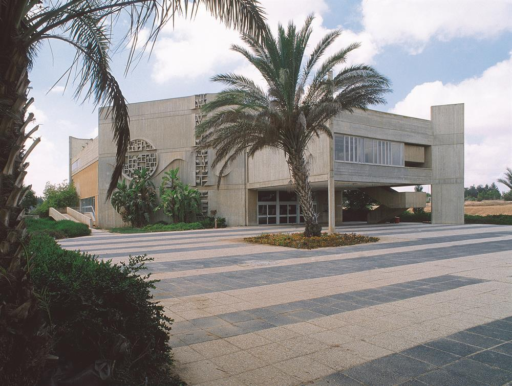 A performance hall in Eshkol