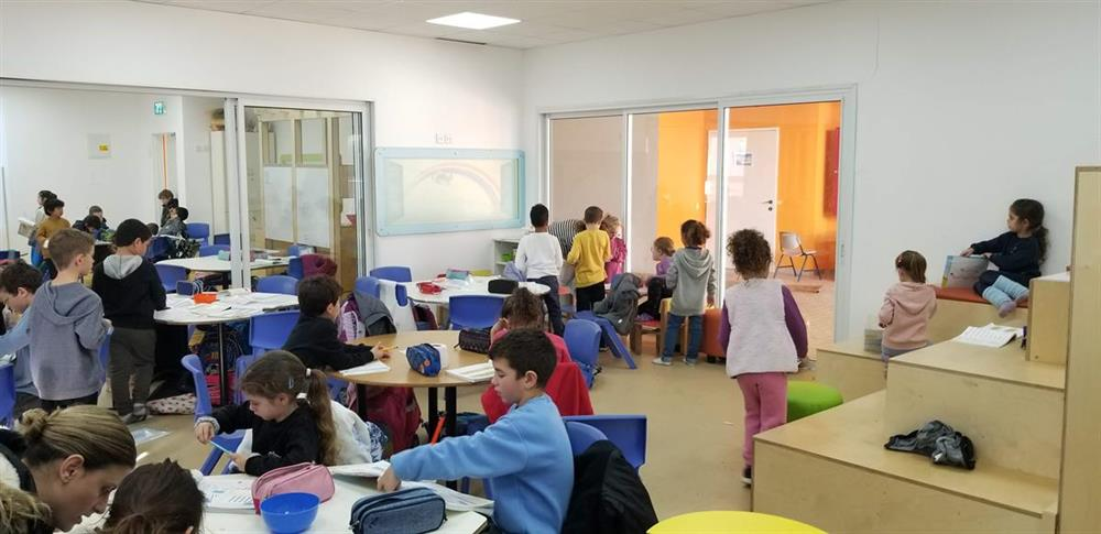 Temporary compound for Kadouri Elementary School