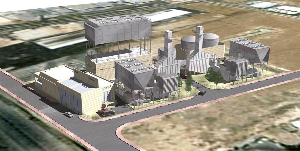 Power plant Kiryat Gat