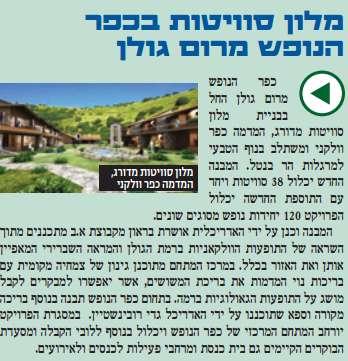 Merom Golan Hotel