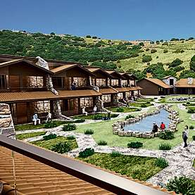 Suits hotel in Merom Golan